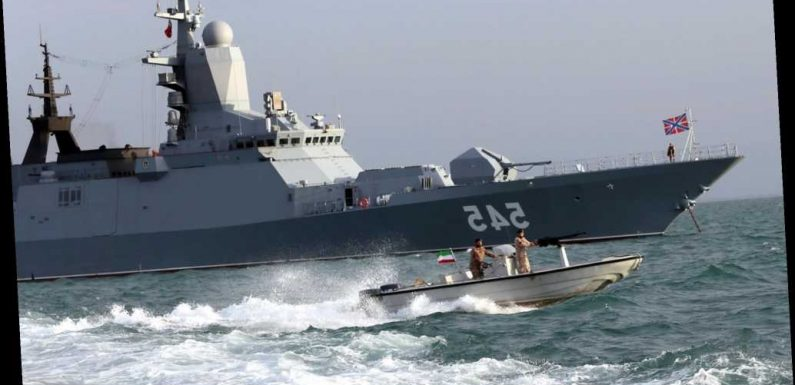 Iran and Russia launch joint naval drill in Indian Ocean, report says