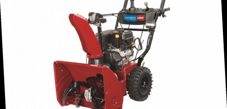 Snow blowers recalled amid winter storms over amputation hazard