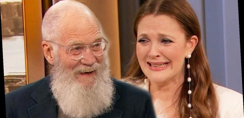 Drew Barrymore Gets Birthday Surprise From David Letterman: Watch