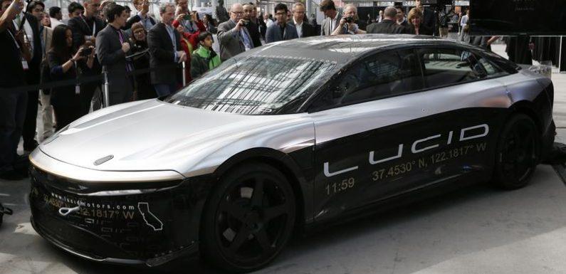 Tesla rival Lucid Motors to go public in $11.8 billion blank-check merger