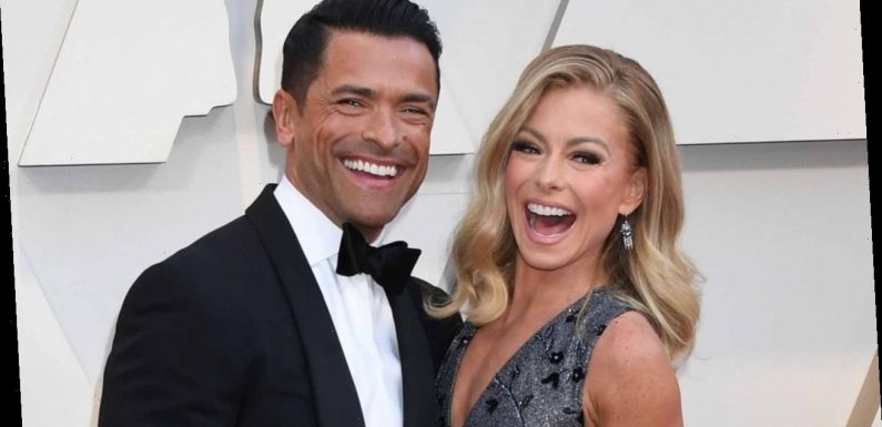 Kelly Ripa's Comment on Mark Consuelos' Post Will Embarrass Their Kids