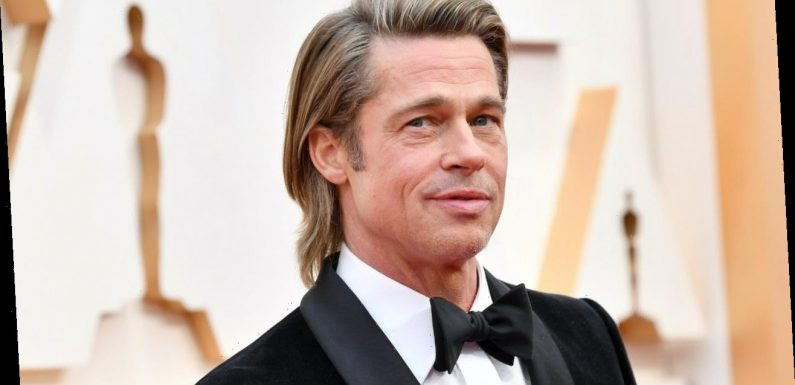 Brad Pitt Sports Small Ponytail While Out and About in Beverly Hills