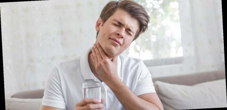 Man says you can only swallow 2-3 times in a row before 'body makes you stop'