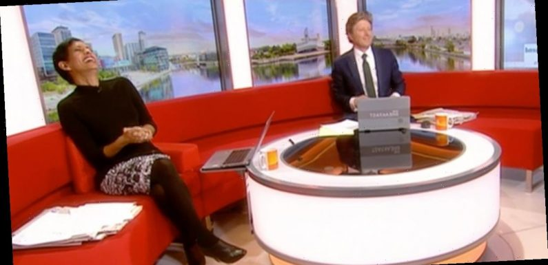 BBC weatherman gets Naga Munchetty's name wrong in 'awkward' gaffe