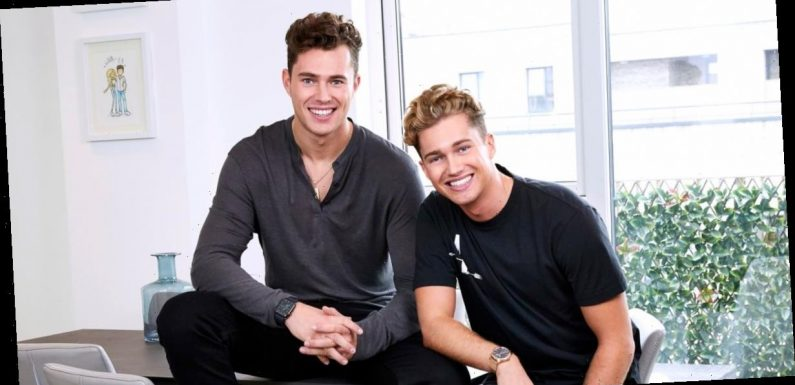 Inside AJ and Curtis Pritchard's stylish shared home: Take an exclusive tour around the dancing pair's lavish pad