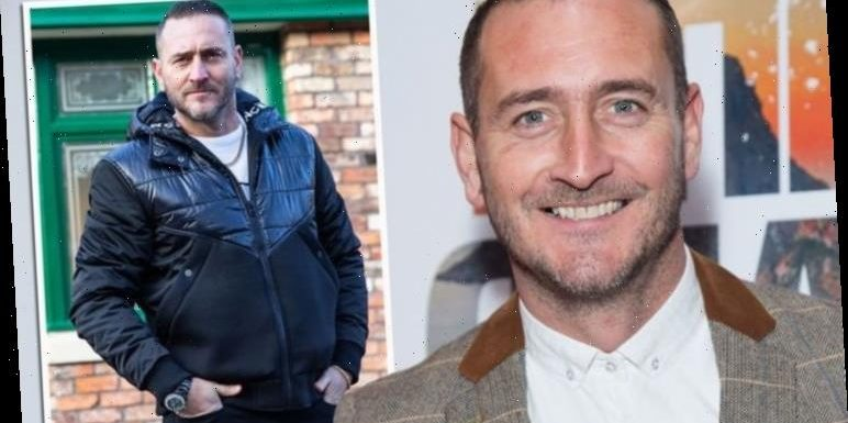 Will Mellor worried about 'getting stick' for Coronation Street role as drug lord Harvey