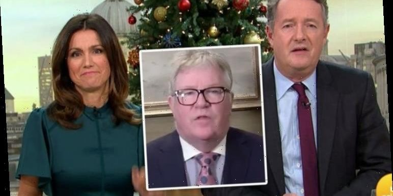 Jim Davidson brands Susanna Reid 'the ghost of Piers Morgan' as he 'applies' to join GMB
