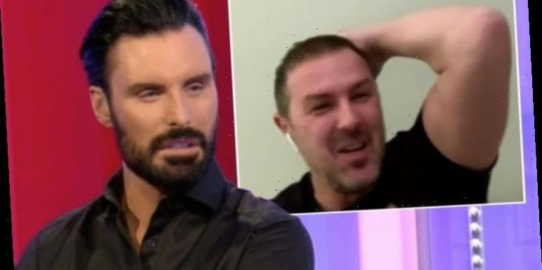Rylan steps in as Paddy McGuinness swears on The One Show after accident 'Apologies!'