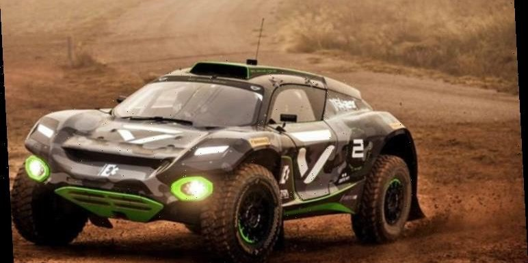 Green Britain: Electric vehicles with F1 backing take on desert challenge in Saudi Arabia