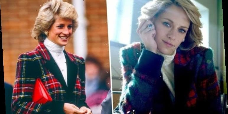 Kristen Stewart uncanny as Princess Diana for new movie role – down to the iconic ring