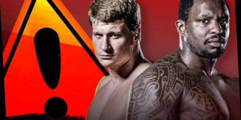 Povetkin v Whyte 2 free live stream: Serious warning issued to fans trying to watch online