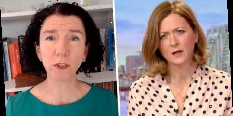 'You're being disingenuous' BBC Rachel Burden skewers Annaliese Dodds on Universal Credit