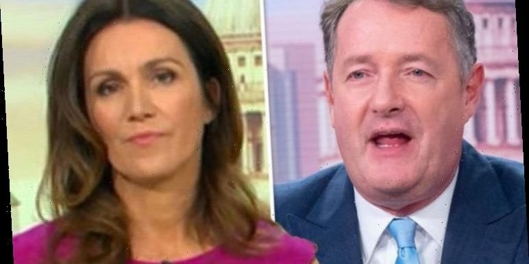 Piers Morgan addresses Susanna Reid's 'frosty' goodbye after he quit GMB 'She's angry'