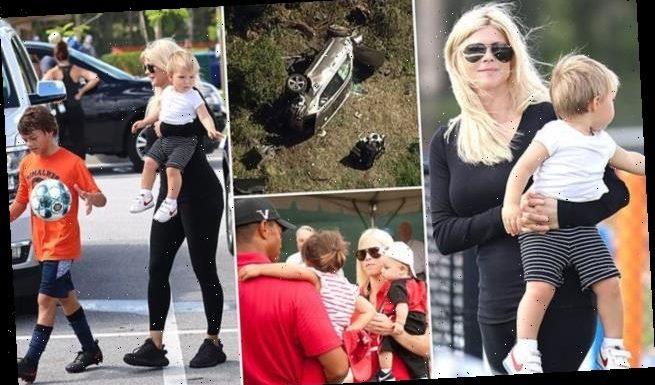 Tiger Woods' ex-wife Elin Nordegren seen out after golfer's car crash