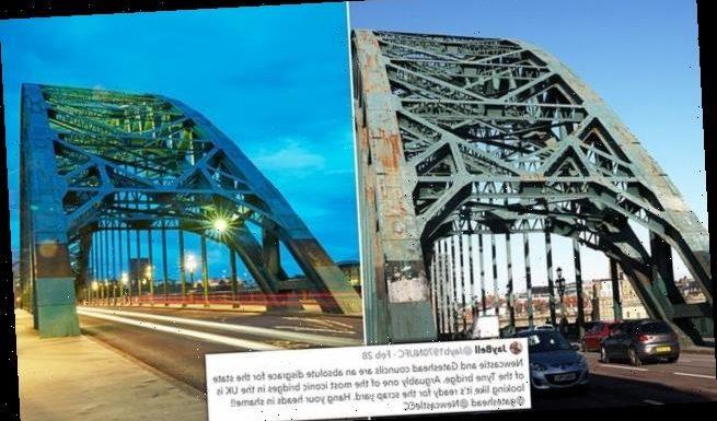 Furious Geordies say iconic Tyne Bridge is  'ready for the scrapyard'