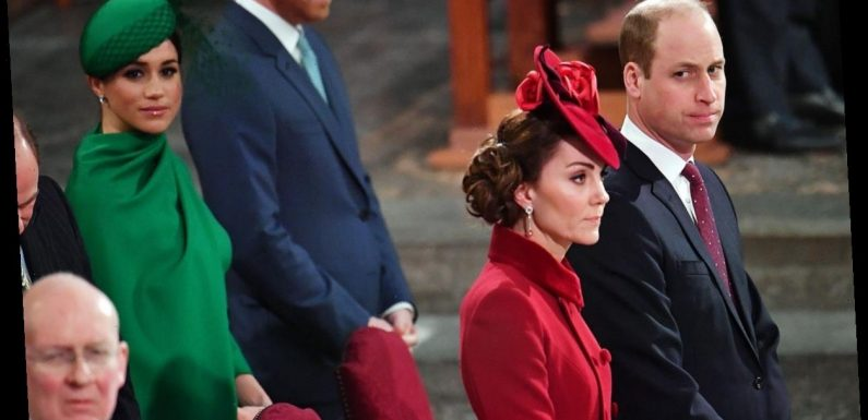 """William & Kate Reportedly Think Meghan & Harry's Issues With The Royals Are A """"Soap Opera"""""""