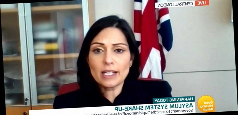 Gibraltar and Isle of Man may be asked to process asylum seekers under UK's tough new border controls, Priti Patel hints
