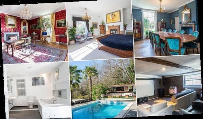 The very lavish Addington House just went on sale for £2.95 million