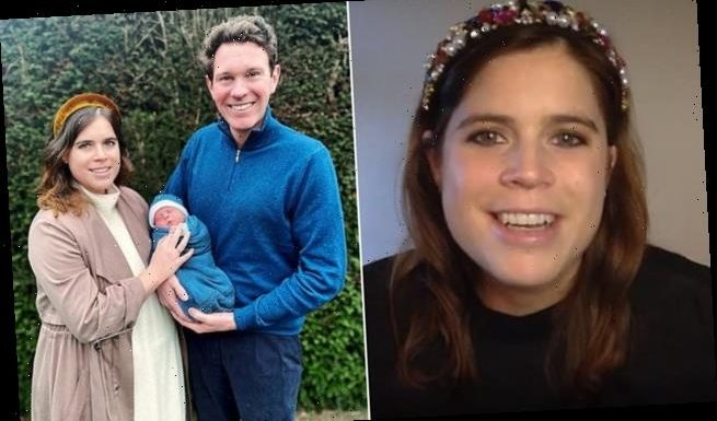 Princess Eugenie shares her hopes for her son's future