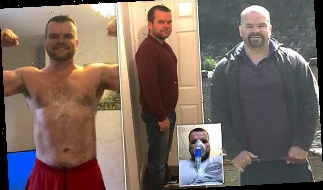 Man who suffered an asthma attack sheds nearly four stone in lockdown