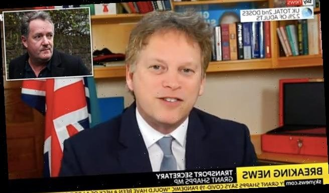 Grant Shapps says he will 'miss' Piers Morgan