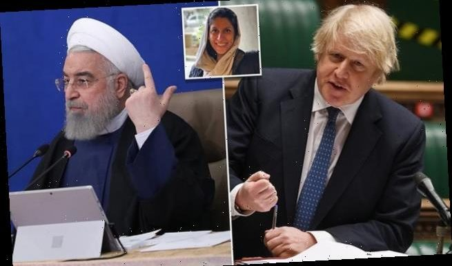 Boris Johnson demands 'immediate release' of Nazanin Zaghari-Ratcliffe