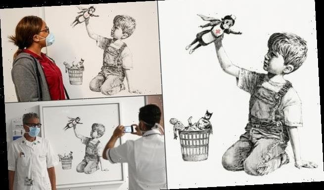 Banksy artwork raises £16mil for charity in record auction for artist