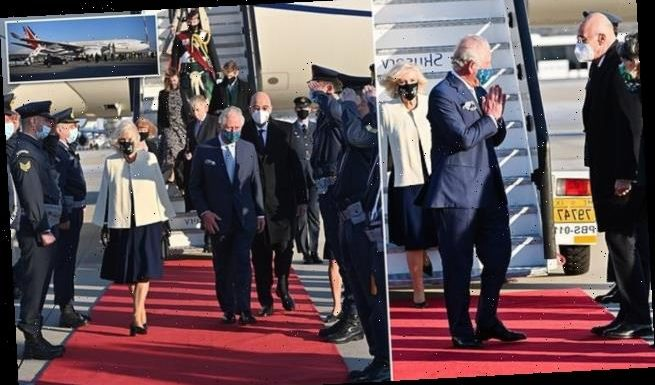 Charles and Camilla arrive in Athens for two-day trip