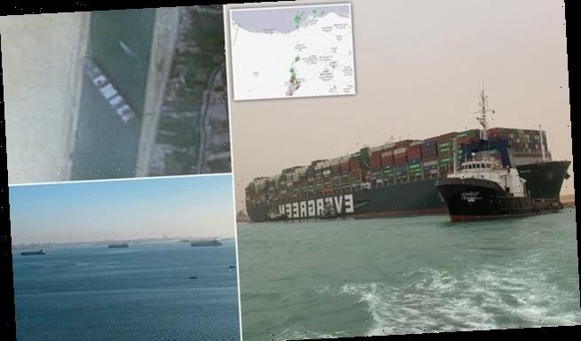 Suez Canal ship could be stuck for weeks, rescue chief admits