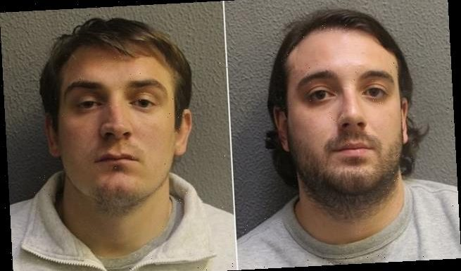 Moped-riding thieves who snatched £22,000 cash box jailed for 18 years