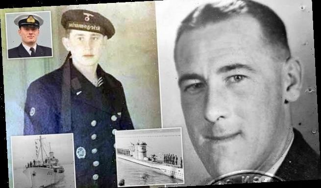 Royal Navy officer's grandfathers fought on OPPOSITE sides of WW2