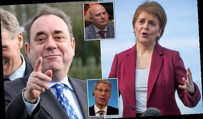 ANOTHER SNP MP defects to Alex Salmond's new Alba party