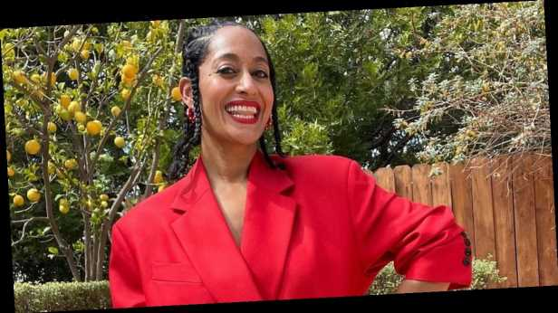 Loving Tracee Ellis Ross's Power Suit? Prepare to Love Her BTS Fitting Photos Even More