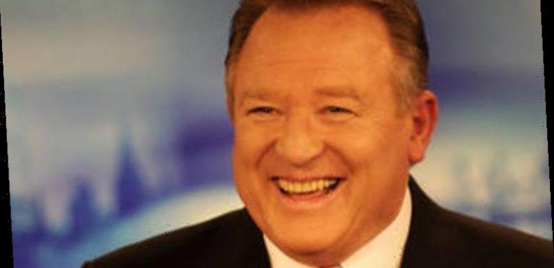 Channel Nine newsreader Peter Hitchener unable to finish bulletin