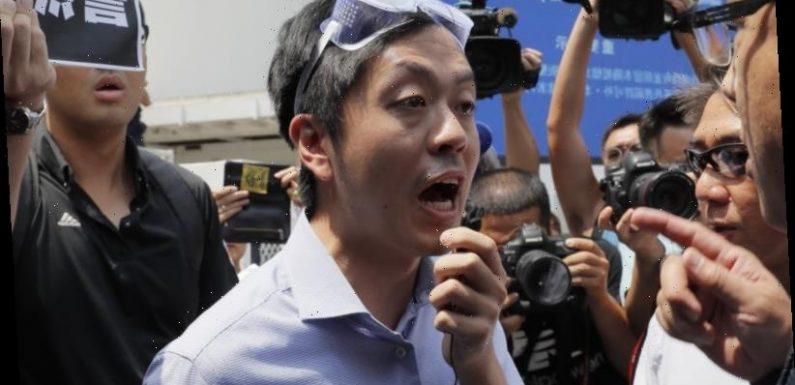 'Time for a new battleground': Wanted Hong Kong legislator lands in Australia