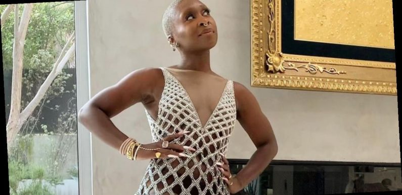 Cynthia Erivo Was an Absolute Vision in Her Netted Dress at the NAACP Image Awards
