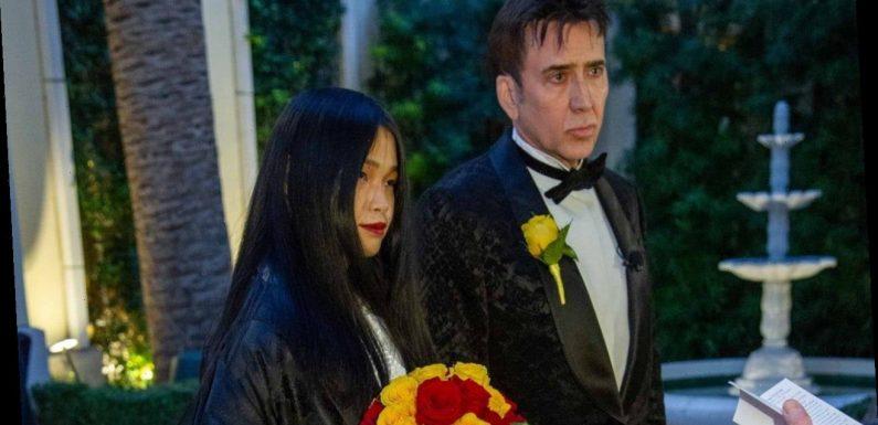 Nicolas Cage weds Riko Shibata: Inside their Las Vegas wedding