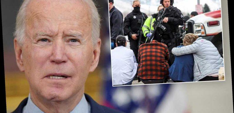 Biden calls to 'ban assault weapons' in wake of Boulder shooting