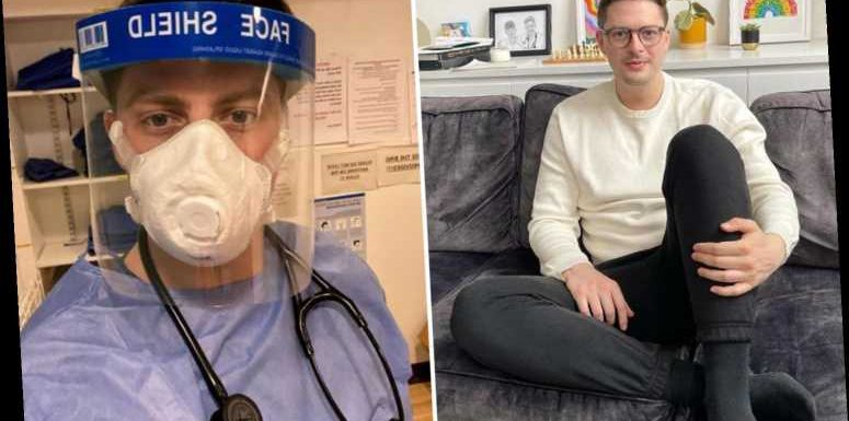 Dr Alex George reveals he's taking a break from work as he admits 'long and hard year has taken its toll'