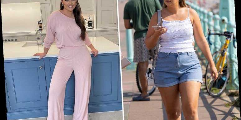 Jacqueline Jossa's 8lb weight loss regime after refusing 'plus size' label – from celeb meal plans to her home gym
