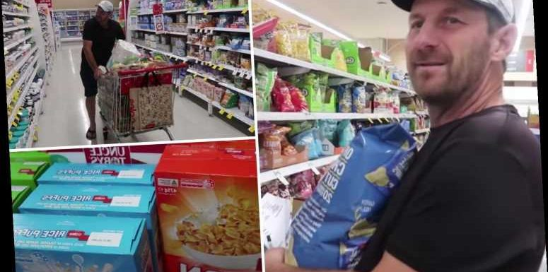 Dad-of-16 reveals family's 'small' grocery shop including 11 boxes of cereal and 30 pints of milk