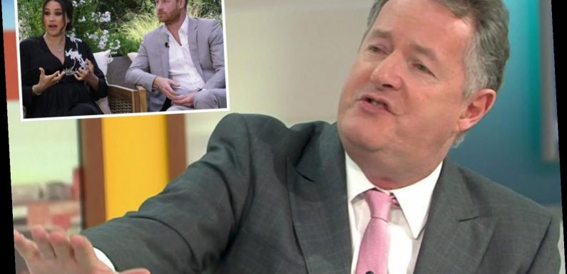 Piers Morgan's Meghan Markle row on Good Morning Britain now has 57,793 Ofcom complaints from furious fans