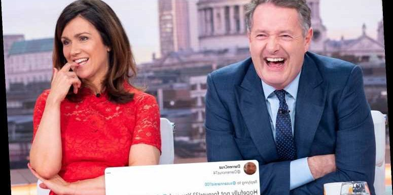 Susanna Reid hints at TV reunion with Piers Morgan as she likes tweets about split 'not being forever'