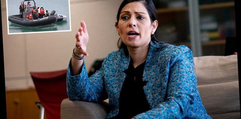 Priti Patel vows illegal immigrants landing on UK beaches face deportation in as little as 24 HOURS