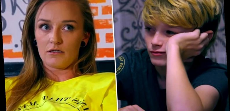 Teen Mom Maci Bookout slammed as 'disgusting' for sharing clickbait post about her 12-year-old son Bentley's sexuality