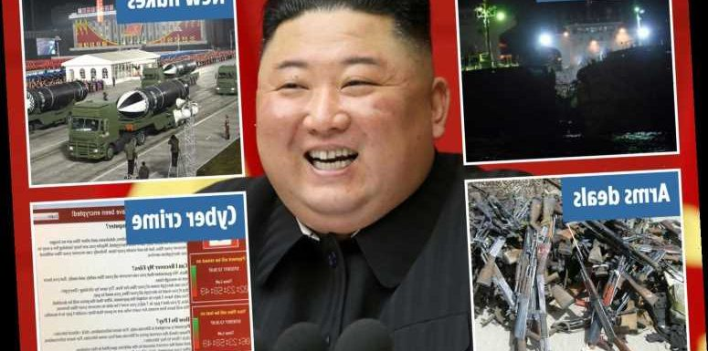 Kim Jong-un branded a 'catastrophic threat' as he secretly preps nukes, launches missiles and sells arms to terrorists