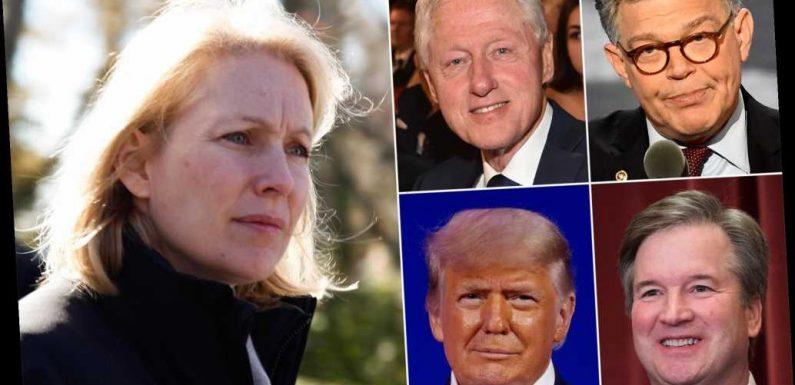 Gillibrand quick to call out Franken, Kavanaugh, Clinton, Trump — but not Cuomo
