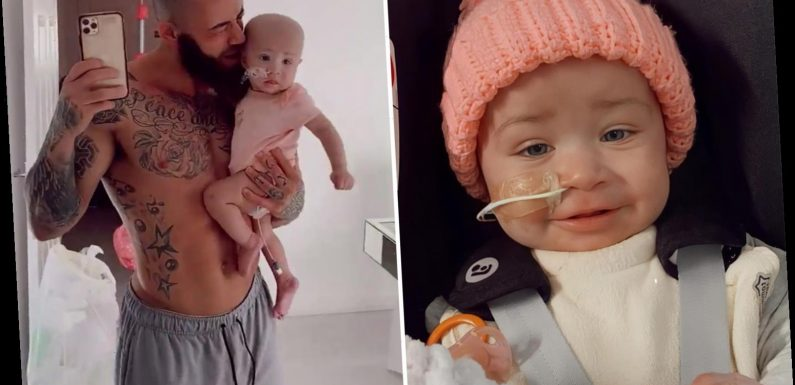 Ashley Cain begs for help to raise £1m for treatment in Singapore bid to save daughter's life after leukaemia relapse