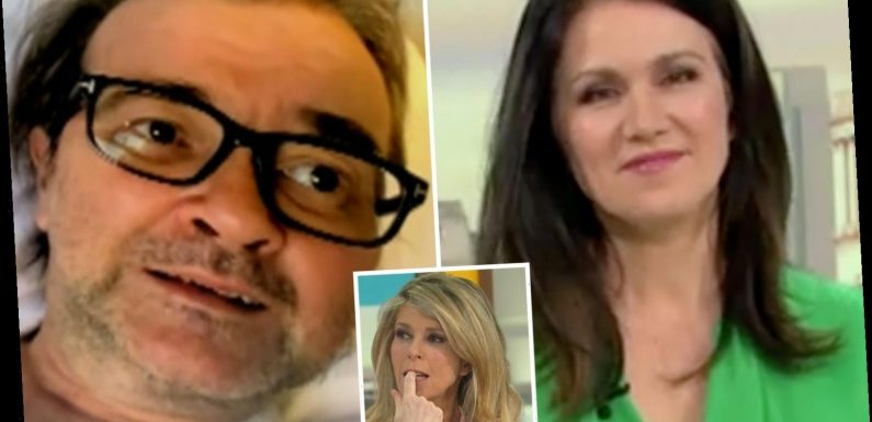 Susanna Reid says Derek Draper will be 'really proud' of Kate Garraway as GMB hosts pay tribute to co-star