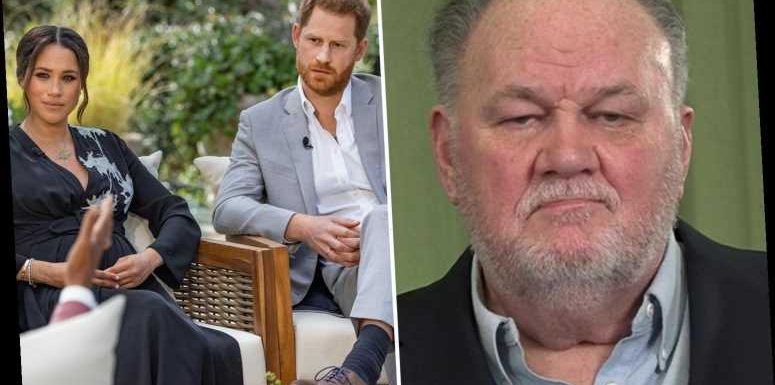 Thomas Markle hung up on 'snotty' Prince Harry when he lectured him as he lay in hospital after heart attack